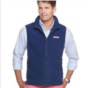 Vineyard Vines Men's Fleece Harbor Vest